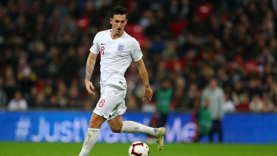 Lewis Dunk made his debut against the United States