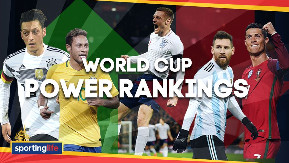 9e390b16d World Cup 2018  Ranking   latest odds on all 32 teams after first group  games in Russia