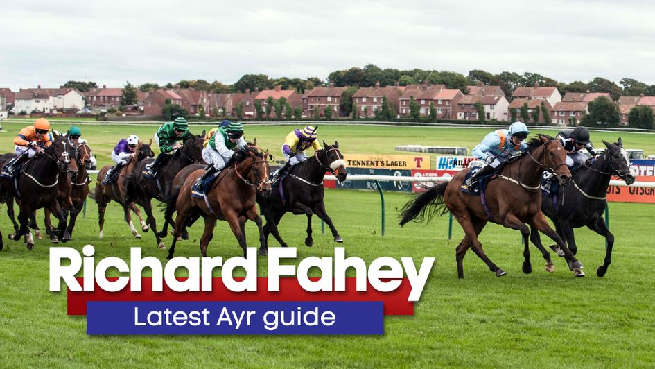 Richard Fahey guides us through his Ayr runners