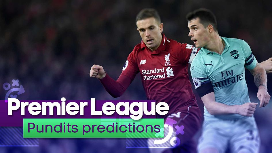 Phil Thompson and Charlie Nicholas give their predictions for Liverpool v Arsenal