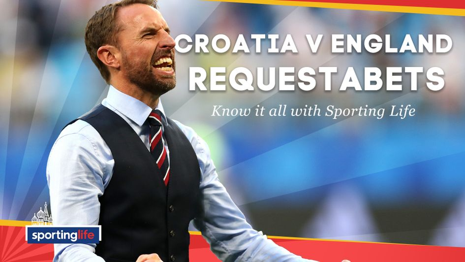 Our Croatia v England RequestABets