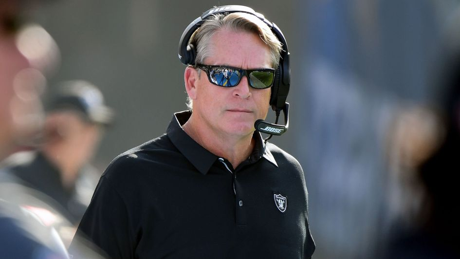 Jack Del Rio has been fired by the Raiders