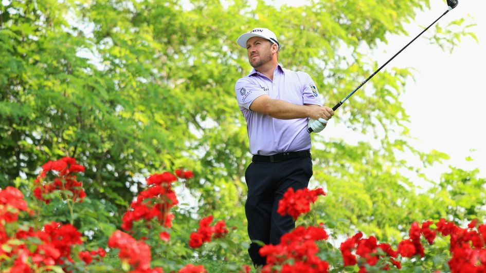 Graeme McDowell in action at Gardagolf