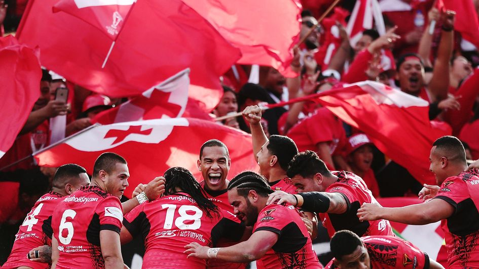 Tonga can book a place in the last four