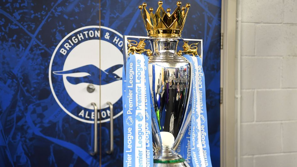 The Premier League trophy is once again Manchester City's