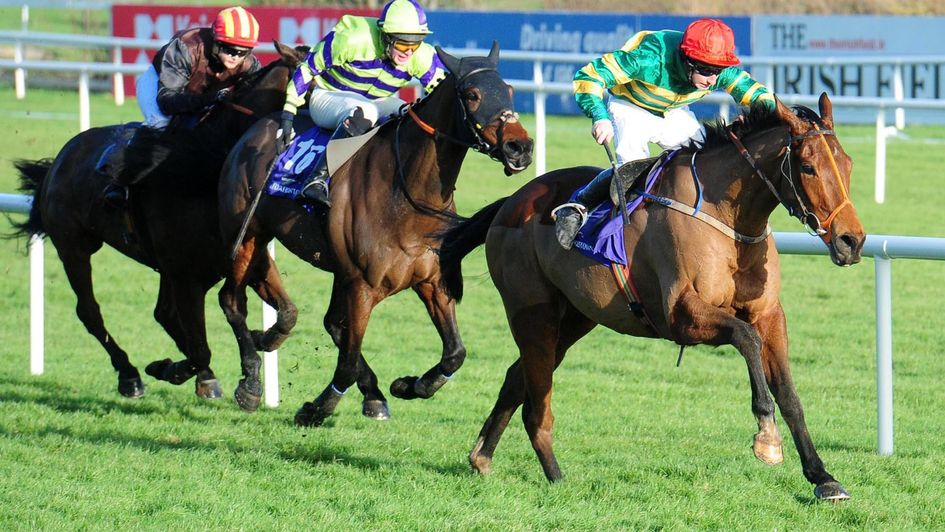 Spider Web is clear at Leopardstown