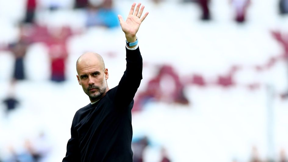 Pep Guardiola: Manchester City boss thanks fans after the win over West Ham