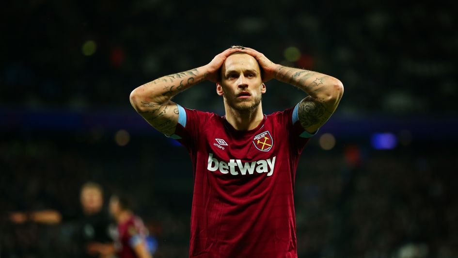 Marko Arnautovic: The Austrian is set for a spell on the sidelines