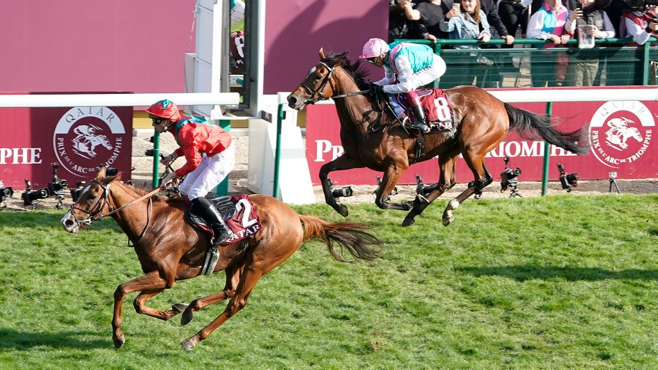 Waldgeist denies Enable a historic third win in the Arc
