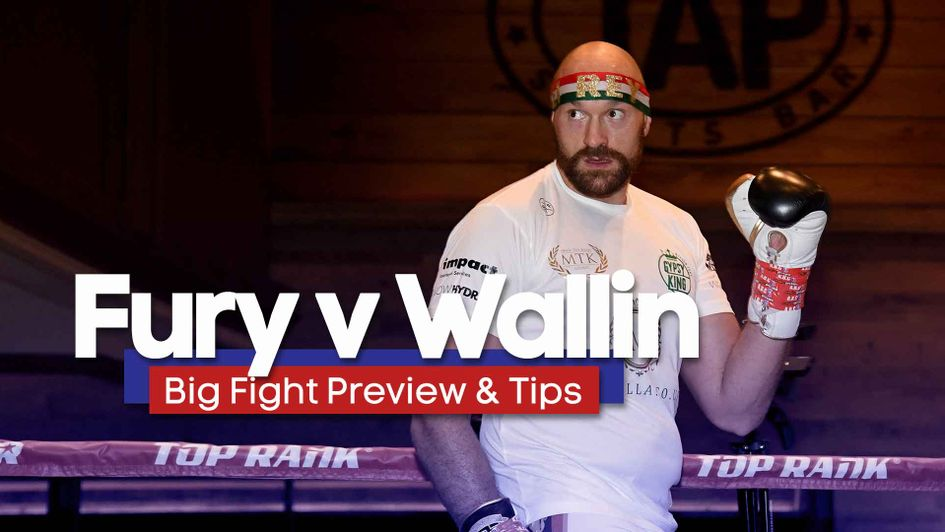 Tyson Fury takes on Otto Wallin in Las Vegas