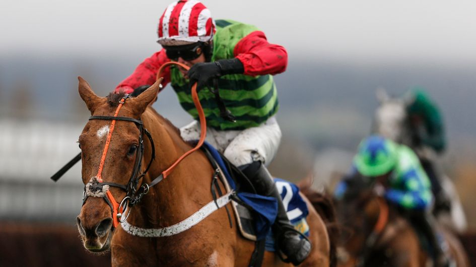 Definitly Red and Danny Cook win at Cheltenham