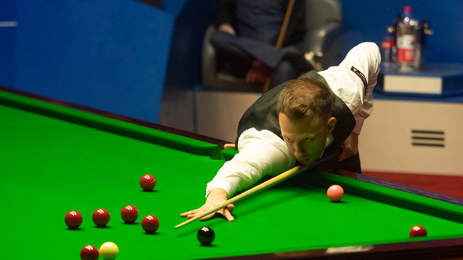 Judd Trump in action in his semi-final win