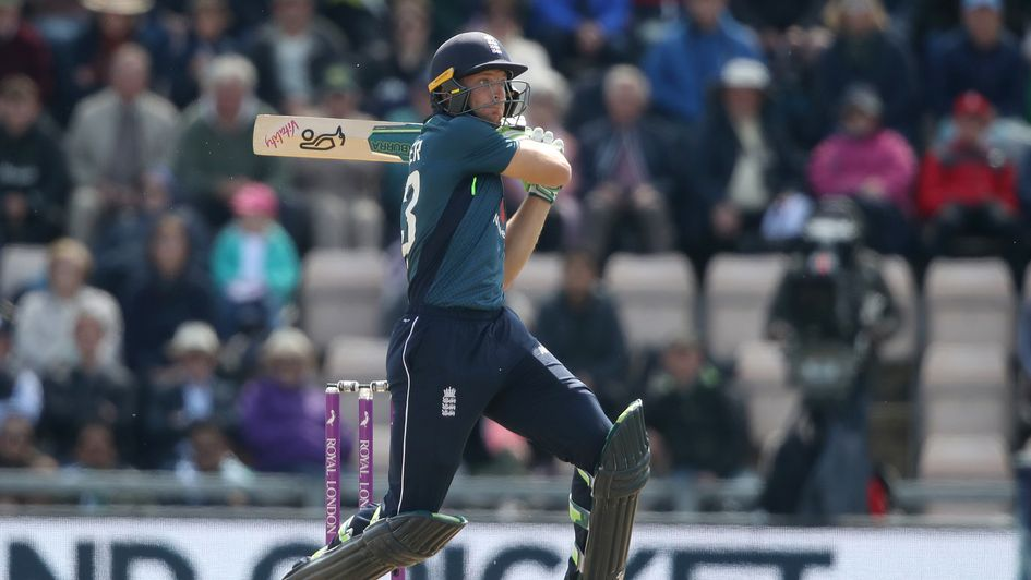 Jos Buttler in typically swashbuckling action