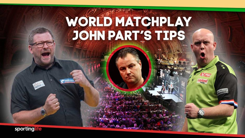 Check out John Part's tips for the World Matchplay