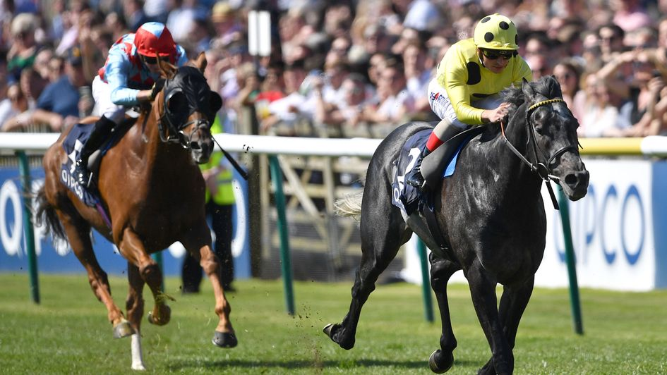 Defoe surges clear of Red Verdon at Newmarket