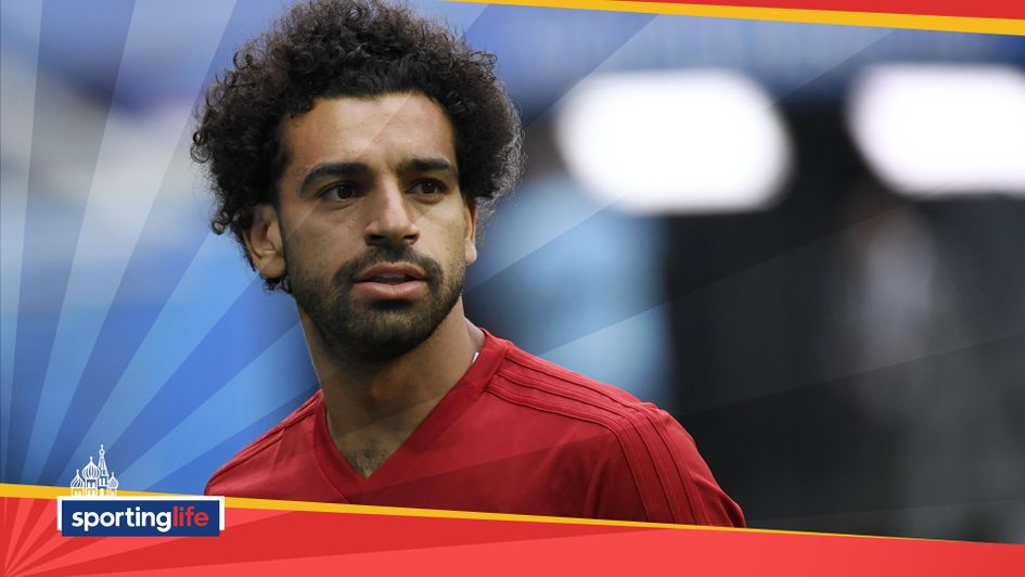 Mo Salah started for Egypt against Russia