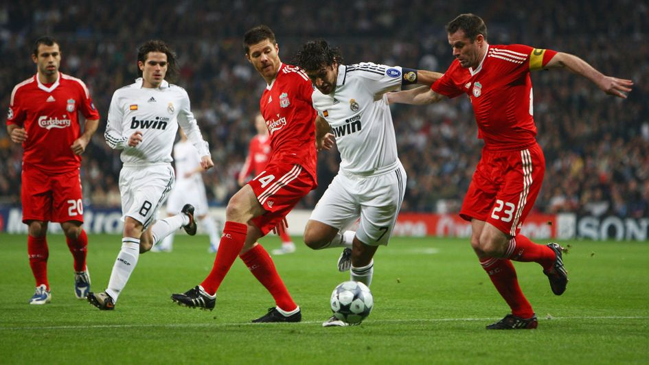 Champions League Final Previous Real Madrid V Liverpool Meetings