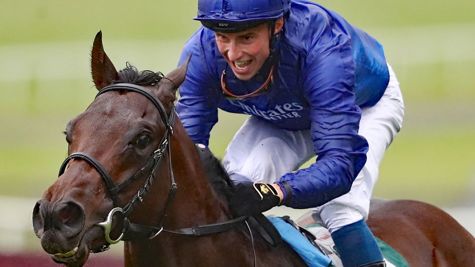 William Buick enjoys the moment on Pinatubo