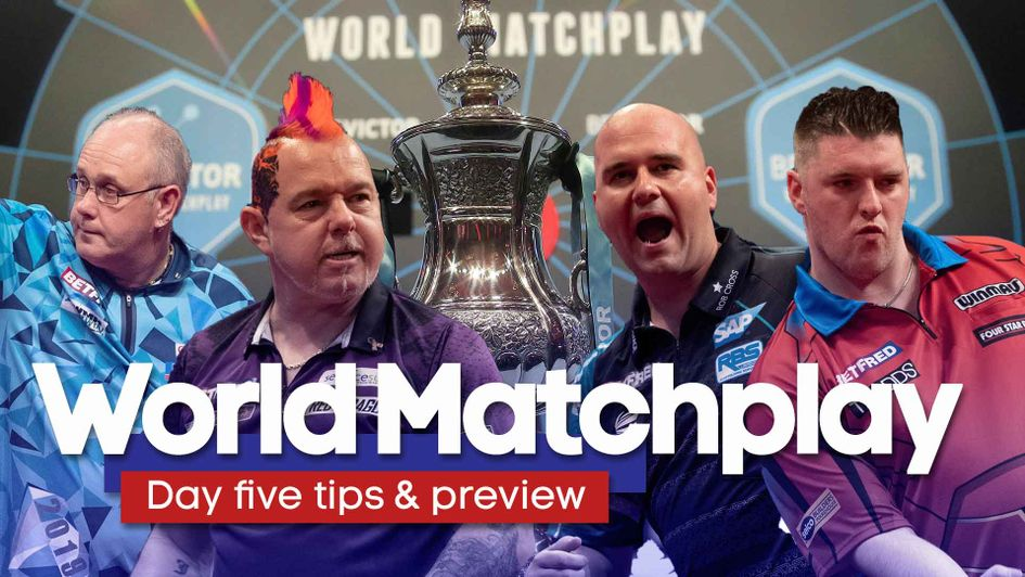 World Matchplay darts: Day five predictions, odds, betting tips