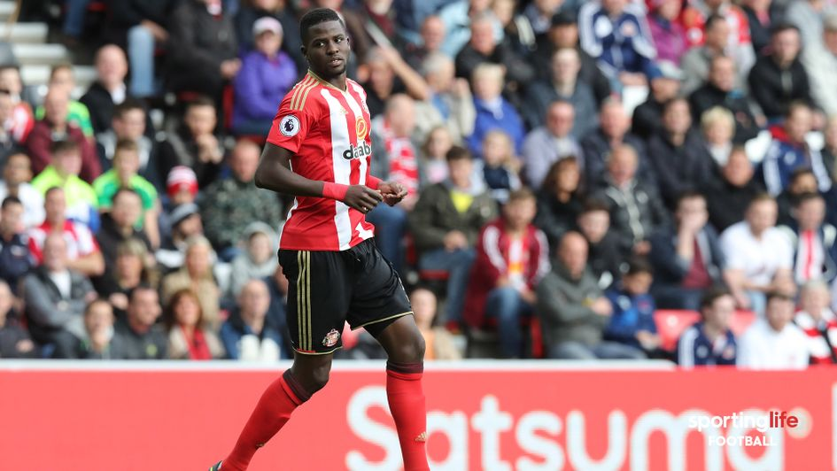 Papy Djilobodji's last first-team appearance for Sunderland was in August 2017