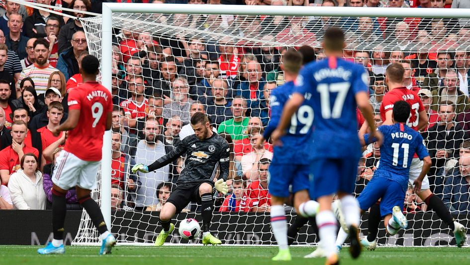 David De Gea: The goalkeeper helped Manchester United keep a clean sheet against Chelsea