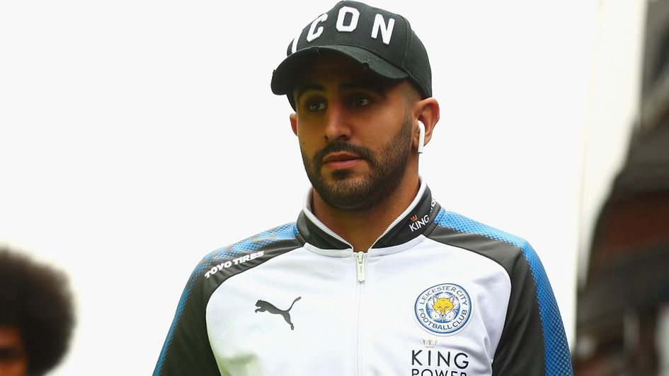 Riyad Mahrez: The Algerian attracted interest from Manchester City in January