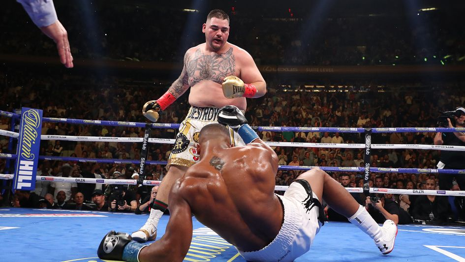 Andy Ruiz Jr shocked Anthony Joshua