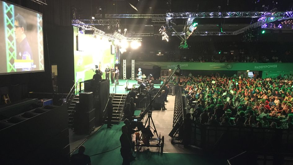 My view of the Champions League of Darts final