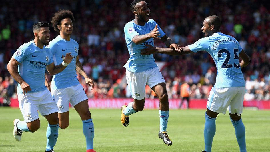Image result for kompany bournemouth 1-2 man city