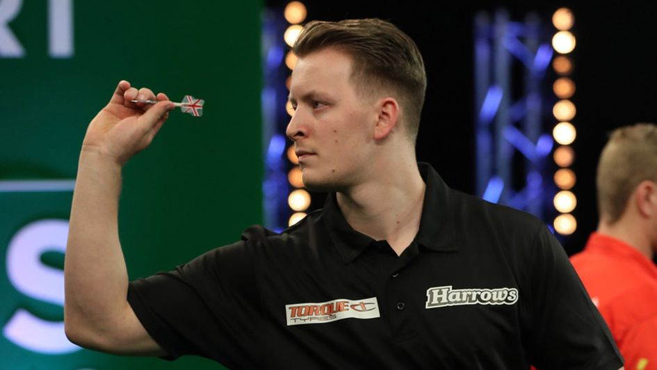 Josh Payne (Picture: Lawrence Lustig/PDC)