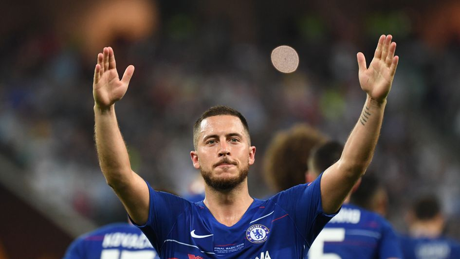 Eden Hazard: The Belgian admits it could be 'time for a new challenge' after winning the Europa League with Chelsea