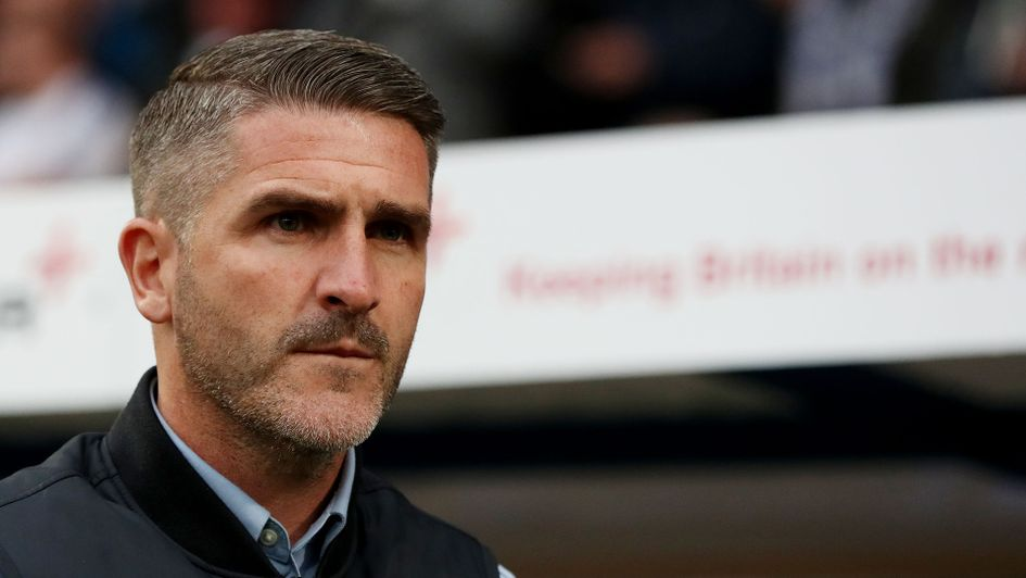Plymouth manager Ryan Lowe
