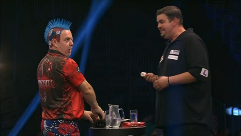 Peter Wright beat Gabriel Clemens in the German Darts Masters final