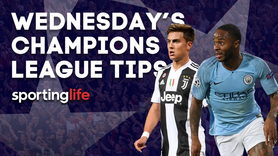Our best bets for Wednesday's Champions League action