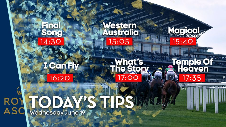 Royal ascot betting tips wednesday betting odds for sports personality of the year 2011