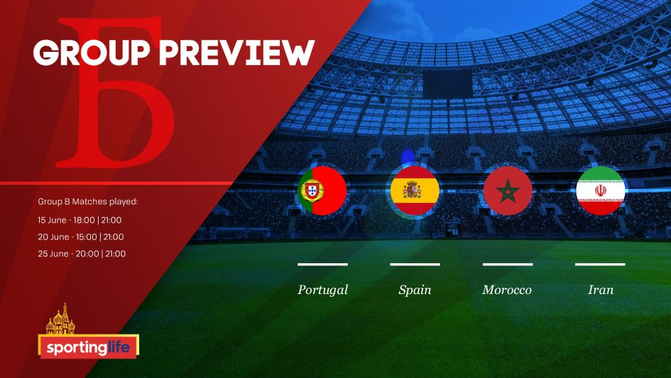 Spain are expected to come out on top of Group B