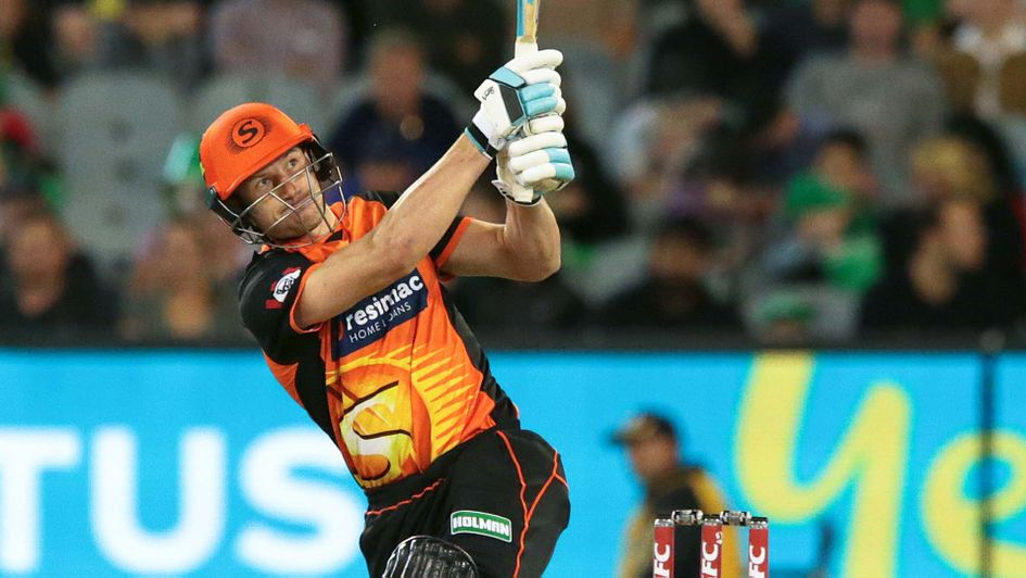 Cameron Bancroft in action for the Perth Scorchers in the Big Bash