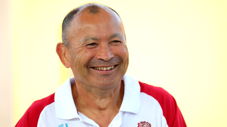 Head coach Eddie Jones was part of South Africa's World Cup coaching team in 2007