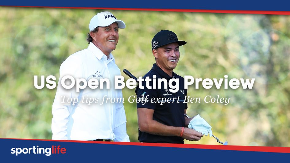 Phil Mickelson and Rickie Fowler are both fancied to go well this week