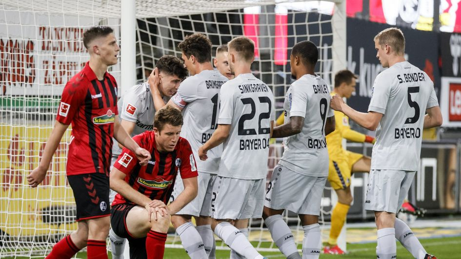 Freiburg 0-1 Bayer Leverkusen: Kai Havertz sends Leverkusen up to ...