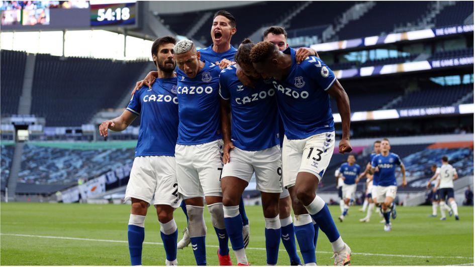 Tottenham 0 1 Everton Match Report Opta Stats Premier League Match Report From Sunday September 13