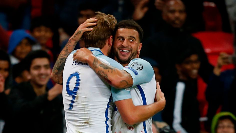 Kyle Walker and Harry Kane are in the England squad