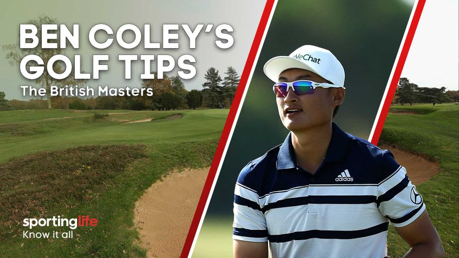 Check out all of Ben Coley's tips for this week's British Masters