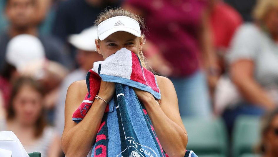 Caroline Wozniacki suffers second round exit at Wimbledon