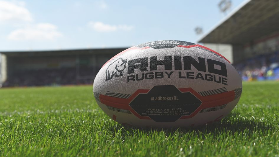 Rhino rugby league ball