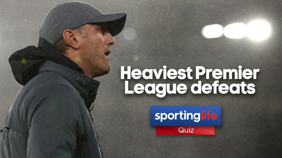 QUIZ: Défaites les plus lourdes en Premier League