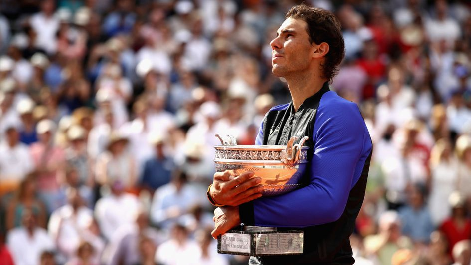 Rafael Nadal won the French Open
