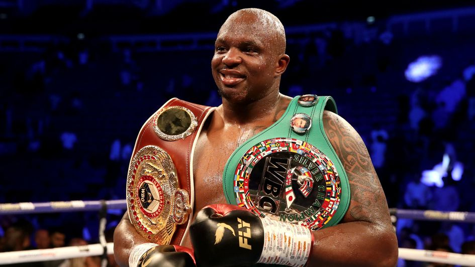 Dillian Whyte - targeting Anthony Joshua rematch