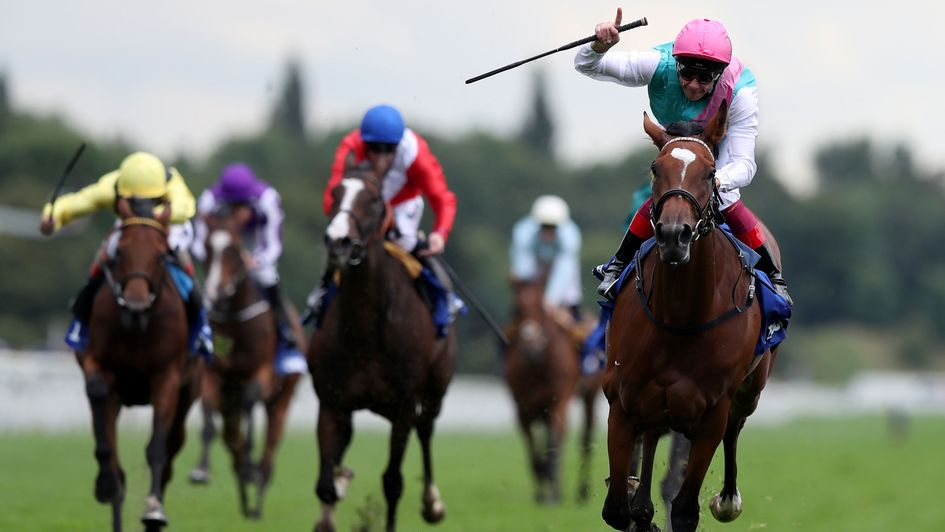 Brilliant Prix de l'Arc de Triomphe winner Enable races on