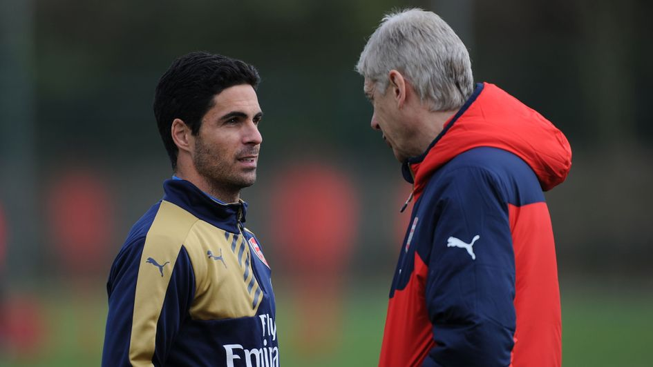 Mikel Arteta is expected to replace Arsene Wenger at Arsenal
